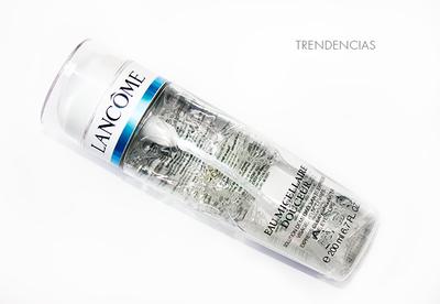 Probamos el agua micelar de Lancome, y sí ¡Nos encanta!