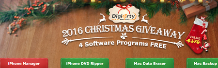 Macxdvd 2016 Christmas Giveaway Get 4 Acclaimed Mac Software For Free