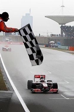 GP de China 2010: A río revuelto victoria para Jenson Button, doblete para McLaren y podio para Nico Rosberg