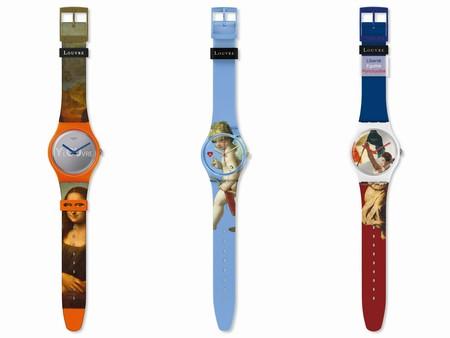 Swatch Y El Museo De Louvre Juntos En Una Divertida Coleccion Para Los Amantes Del Arte