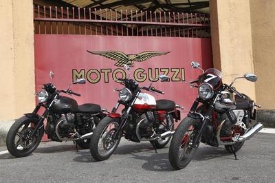 Moto Guzzi V7, nuevo motor, nuevas opciones, nuevos colores para una moto clásica
