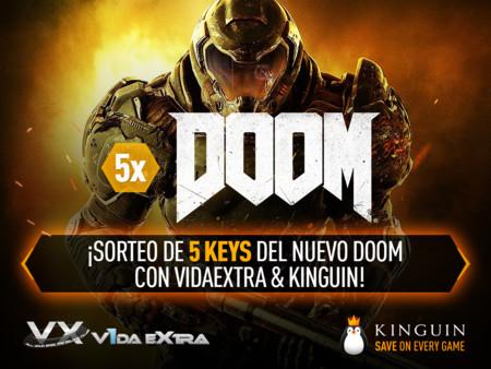 Sorteamos 5 keys del nuevo DOOM para PC (finalizado)