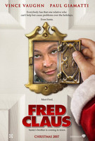 Teaser poster de 'Fred Claus', con Vince Vaughn y Paul Giamatti