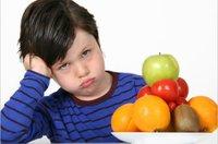 Niños que rechazan alimentos concretos