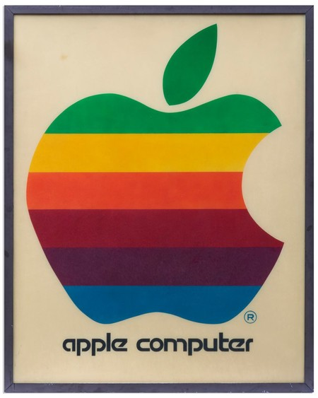 Cartel Apple multicolor 1976