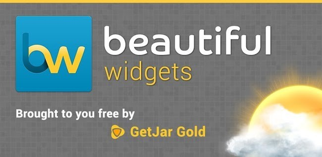 Beautiful Widgets Gold