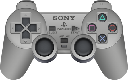 Sony Playstation Dual Shock Controller By Blueamnesiac D6w0ta7