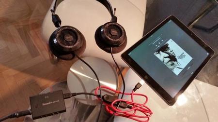 Escuchar música con alta calidad en el iPad y buenos auriculares es posible gracias al E3 y su conectividad USB / OTG
