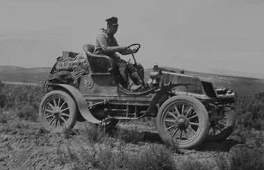 La aventura de la primera persona que cruzó Estados Unidos en coche