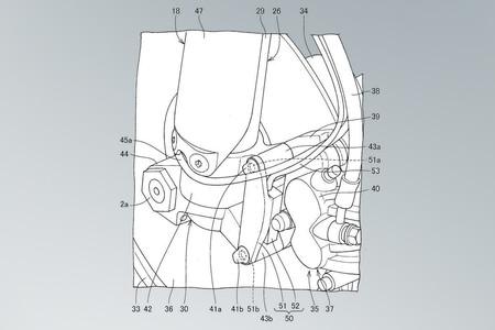 Patente Honda Suspensiones