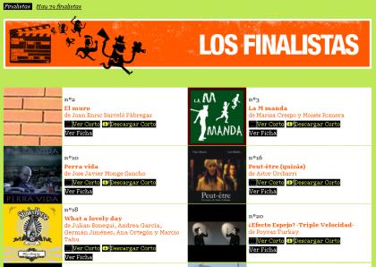 Ya se pueden ver los Finalistas del Notodofilmfest.com