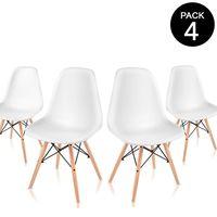 Oferta Flash: pack de cuatro sillas McHaus por sólo 59 euros y envío gratis
