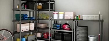 Ofertas para poner en orden el garaje o el trastero: armarios y estanterías más baratos en Amazon y Leroy Merlin