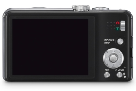 Panasonic TZ30 pantalla