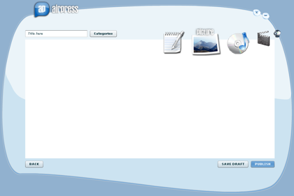 AirPress, escribe en tu blog desde el escritorio