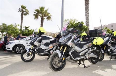 La Honda CRF1000L Africa Twin y el X-ADV protagonistas también en el Giro de Italia