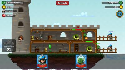 Arcanox, construyendo nuestros castillos e invadiendo los de los demás a golpe de naipe
