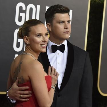 25 parejas de famosos llenan de amor la alfombra roja de los Globos de Oro 2020