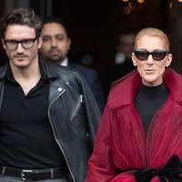 Céline Dion nos deja sin palabras con su look en negro y burdeos
