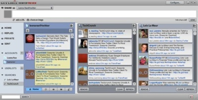Seesmic Desktop, la evolución de Twhirl