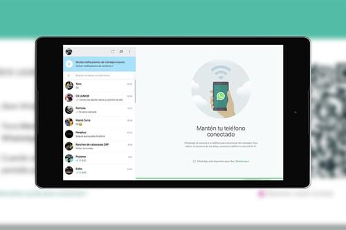 Cómo usar WhatsApp web desde el móvil
