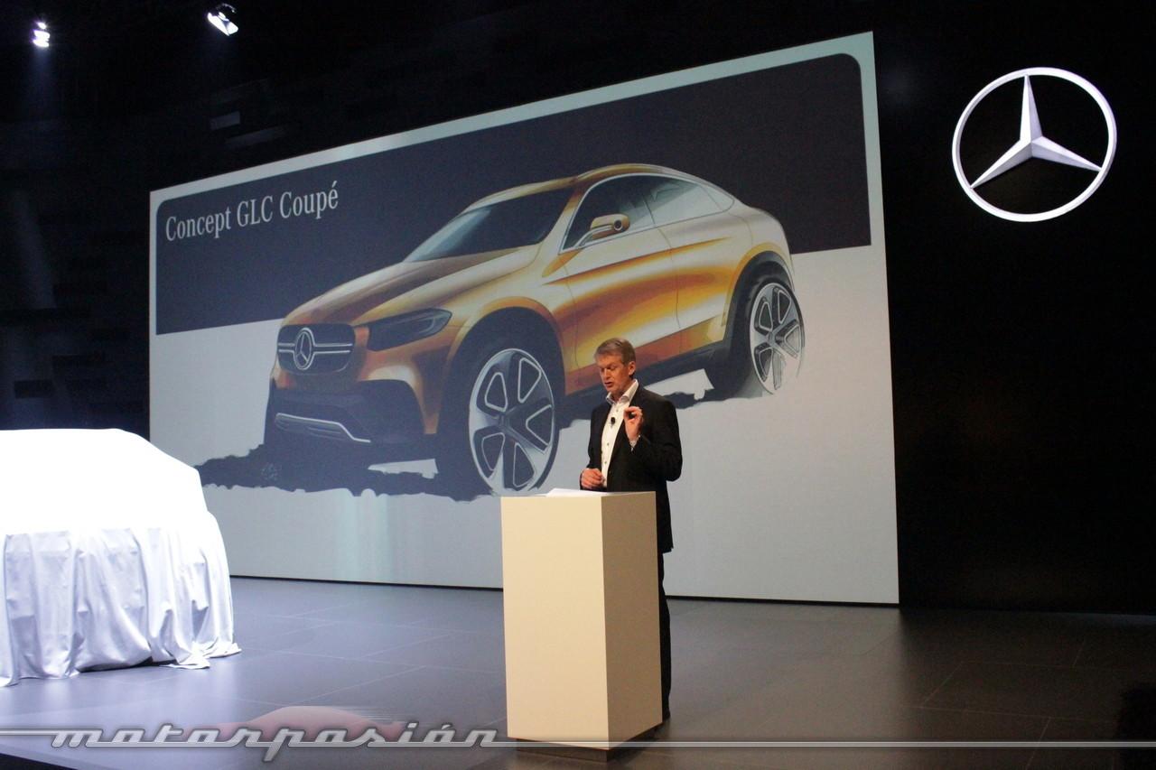 Foto de Mercedes-Benz Concept GLC Coupé (Premiere en Shangai) (4/26)