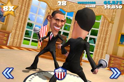 """El nuevo juego de los creadores de Infinity Blade enfrenta """"a muerte"""" a los candidatos por la presidencia de Estados Unidos"""