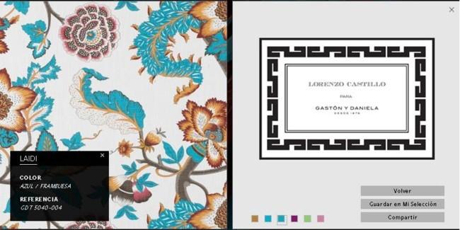 Colección Lorenzo Castillo para Gastón y Daniela