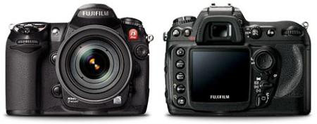 Cámara Fujifilm IS Pro, toma fotos de cosas que no se ven