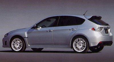 Subaru Impreza WRX STI al descubierto