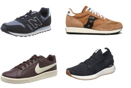 Ofertas en tallas sueltas de zapatillas Puma, New Balance, Nike o Saucony disponibles  en Amazon