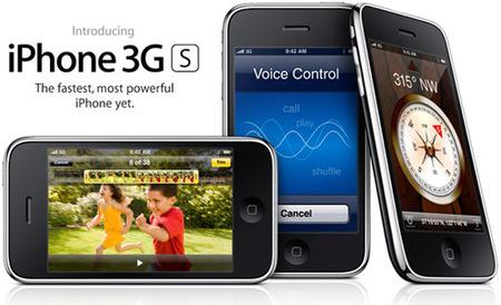 Mejoras del nuevo iPhone 3G S