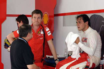 Ferrari confirma que Massa cometió un error en Sepang