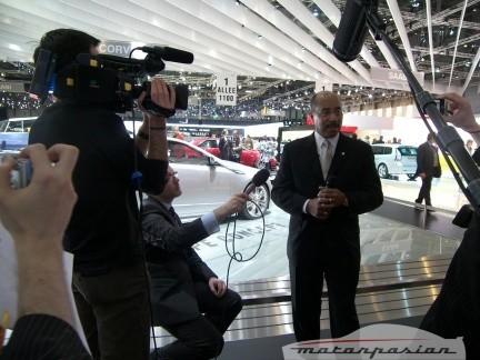Un paseo por el Salón de Ginebra con Ed Welburn, director de diseño de GM (parte 2)