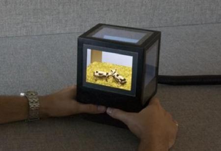 pCubee, o cómo conseguir tridimensionalidad con cinco pantallas en un cubo