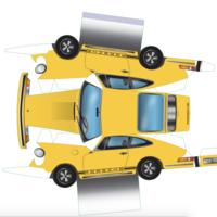 ¡Porsche te regala un 911 (de papel)! Aquí tienes un nuevo proyecto para esta cuarentena