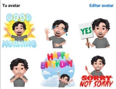 Cómo crear un avatar personalizado en Facebook para iOS y Android