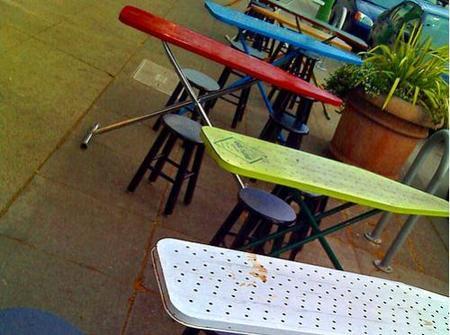 Reutilizando viejas tablas de planchar