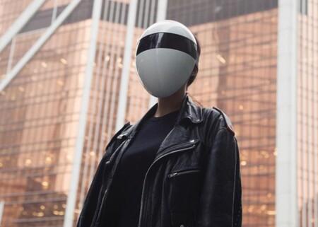 Lo último para protegerse de la COVID-19 es Blanc, una inquietante máscara modular, personalizable y completa que cubre toda tu cara