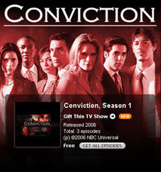 Piloto de Conviction online