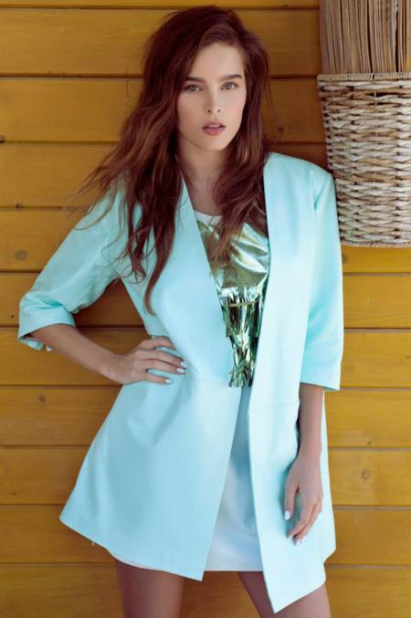 El Colmillo de Morsa catálogo Primavera Verano 2014 blazer baby azul tono pastel corte masculino