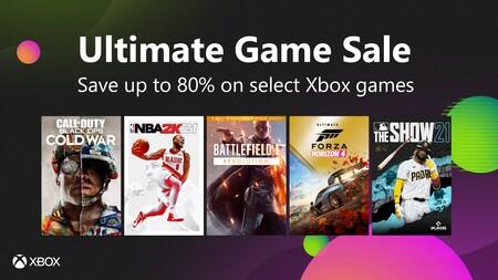 Xbox arranca la Ultimate Game Sale con rebajas de hasta el 80% en juegazos. Aquí tienes las mejores ofertas