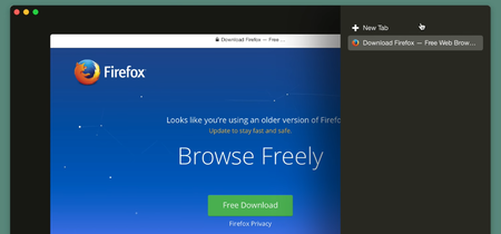 Primer vistazo al nuevo diseño de Firefox 57, la primera versión que incluirá Quantum