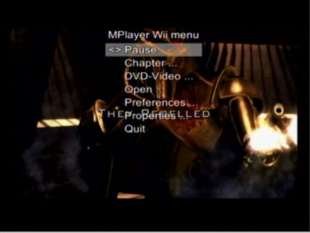 Wii MPlayer