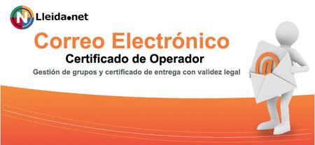 Correo certificado de Lleida.net para las comunicaciones legales de las empresas