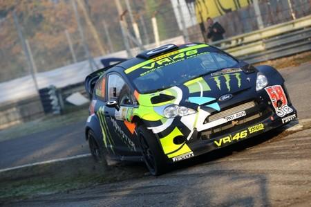 Valentino Rossi y Jorge Lorenzo estrellas en el Monza Rally Show