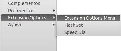 Cómo acceder más rápidamente a las opciones de tus extensiones en Firefox 4