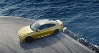 Hilando fino: esto es un BMW M4 Coupé derrapando en un portaaviones