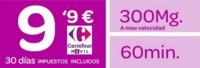 Nuevo prepago Carrefour: 60 minutos y 300 MB con reducción a 128 Kbps