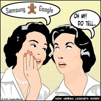 Rumor: Samsung y Google trabajan en un teléfono que estrene Gingerbread